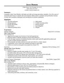 unforgettable team member resume examples to stand out
