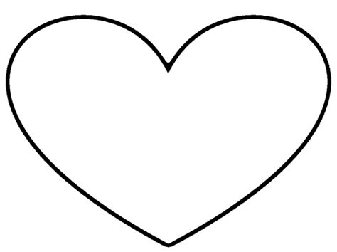 heart outline stencil free images at clker com vector