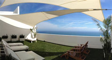 Corbett Residence   Patio Shade Sails   ShadeFLA