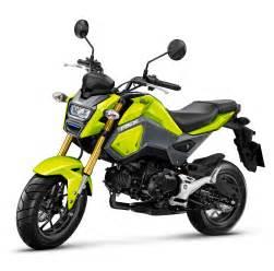 Honda Gron Honda Grom Set For Australian Market Bike Review