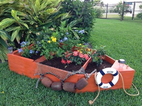 nautical boat planter boat plans journal