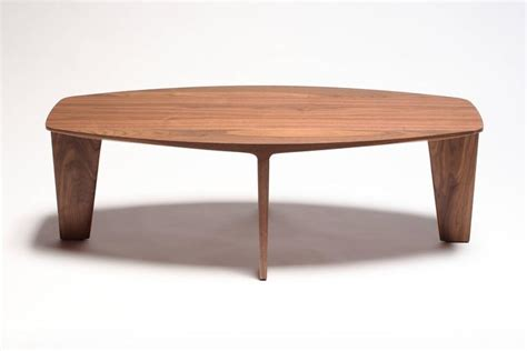 Handmade Furniture San Francisco - keels contemporary coffee or cocktail table in walnut