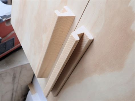 how to make wooden handles and pulls