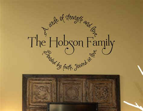 religious wall ideas family circle bonded by faith wall decal best family circle and wall decals ideas