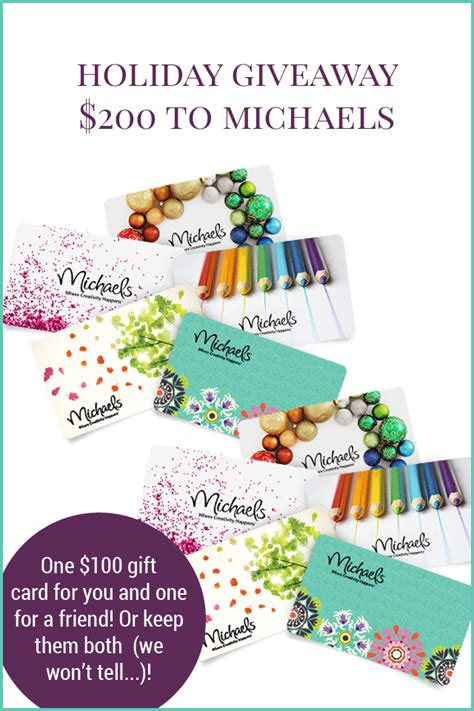 Michaels Giveaway - 200 michaels giveaway the holiday collective shrimp salad circus