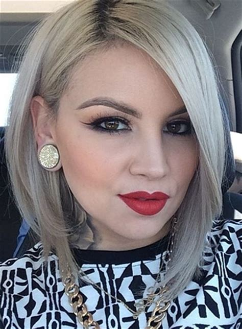 Hair That Comes To A Point In The Back | 26 a line bob hairstyles we love styles weekly