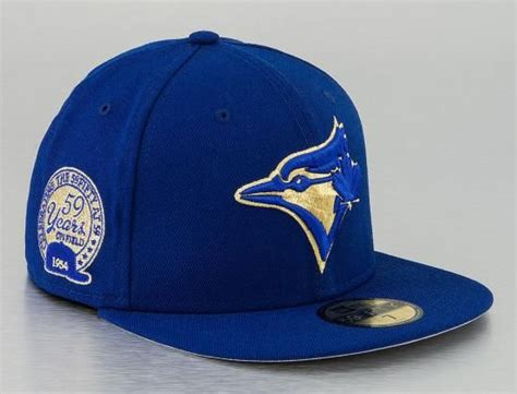 Topi New Era Original Mlb Toronto Blue Jays Fitted Size 714 custom toronto blue jays 59fifty 59 years 59fifty fitted baseball cap by new era x mlb
