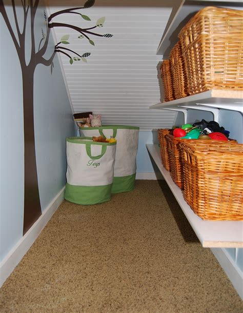under stairs closet organizers stairs closet storage i can do this now