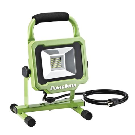 powersmith 20 watt 2000 lumens led work light pwl1120bs