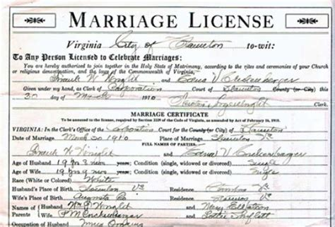 Richmond Va Marriage Records Virginia Memory This Day In Virginia History