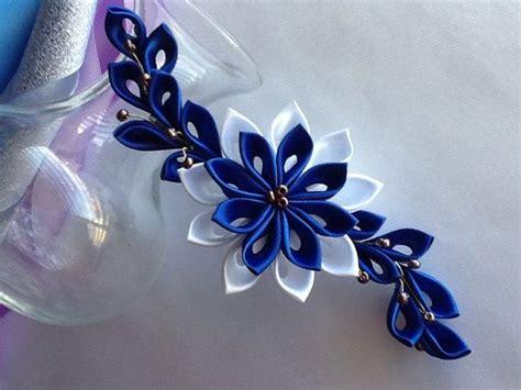 Royal Blue Hair Accessories For Weddings by 102 Mejores Im 225 Genes Sobre Flores Satinadas En