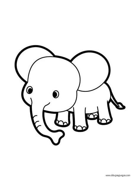 imagenes de elefantes faciles para dibujar dibujo de elefante 000 dibujos y juegos para pintar y
