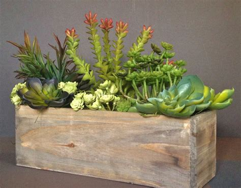 Succulents Planters by Most Popular Cedar Wood Succulent Planter Box Rustic