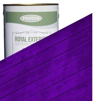 Royal Velvet Optic Floor L by Royal Exterior Wood Finish Mauveine Purple Protek Wood