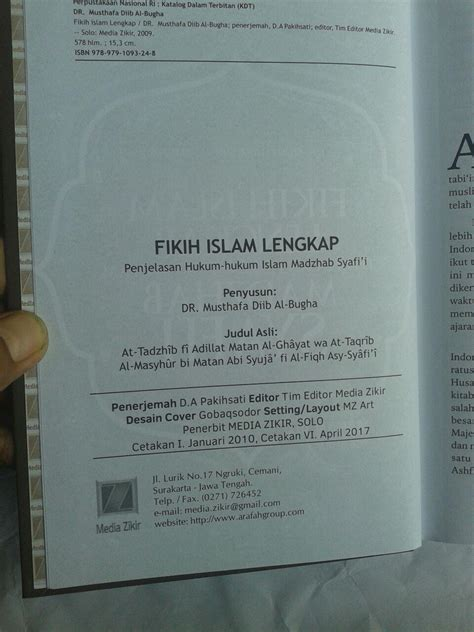 Buku Metode Penemuan Hukum Hukum buku fikih islam lengkap penjelasan hukum hukum islam madzhab syafi i