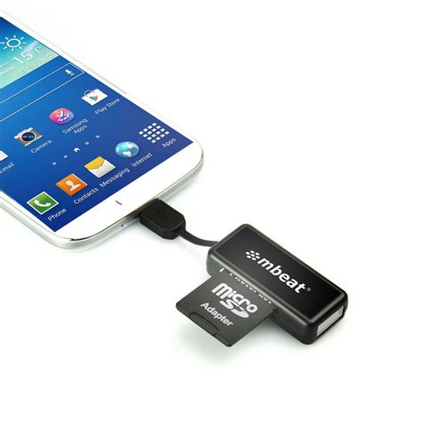 micro usb card reader and hub for android smartphone tablet kg electronic