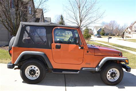 2000 Jeep Wrangler Se 2000 Jeep Wrangler Pictures Cargurus