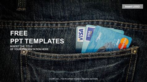 Credit Card Size Template Powerpoint Credit Card Finance Ppt Templates Free