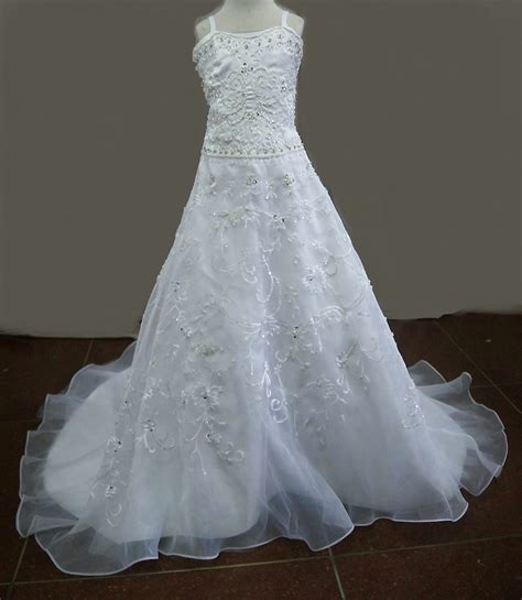 Dress D 225 miniature dresses child wedding dresses