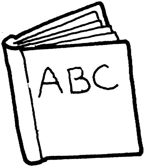 outline picture of a book book outline clip cliparts co