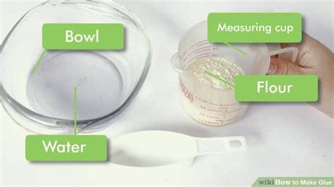 Simple Glue 1 5 ways to make glue wikihow