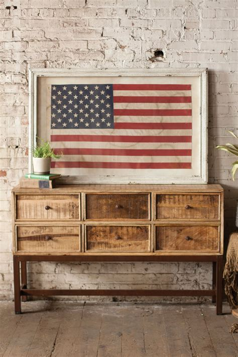 rustic american flag wall art tipsdesainkuclub home our framed american flag is a gorgeous rustic piece of