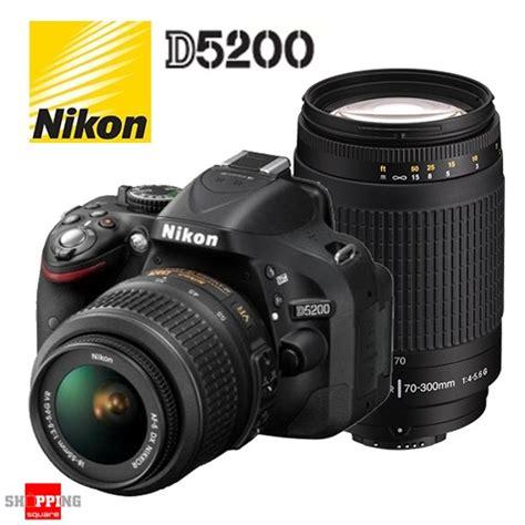 Nikon D5200 Kit Lens 18 55mm Lens Vr nikon d5200 dslr kit 18 55mm 70 300mm lens ebay