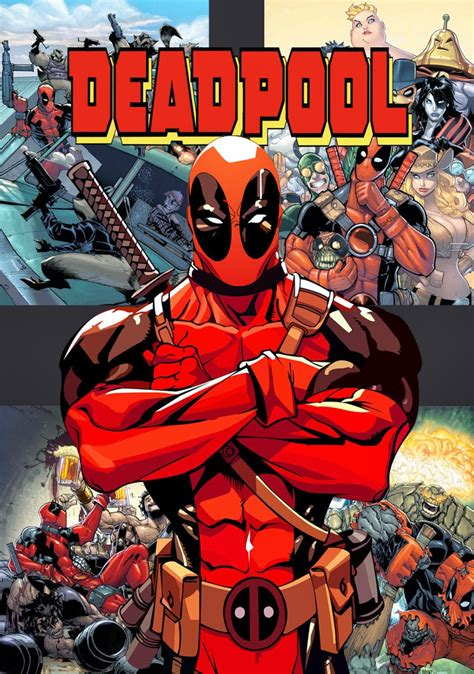 deadpool covers comic and deadpool on