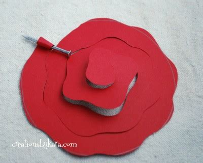 tutorial rolled paper flowers rolled paper roses