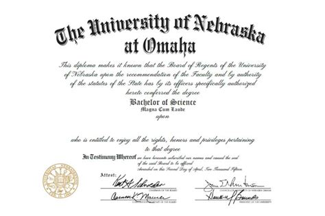 Of Nebraska Omaha Mba by Digital Diplomas Now Available News Of