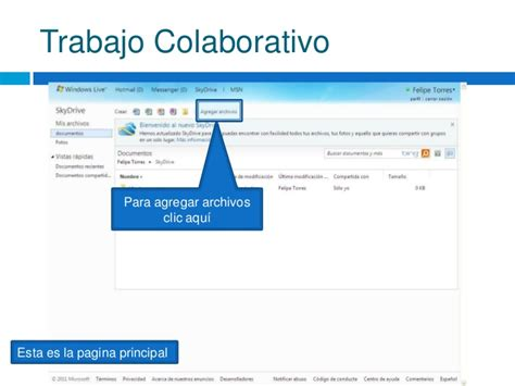 Microsoft Office Live C 243 Mo Trabajar En Microsoft Office Live Workspace