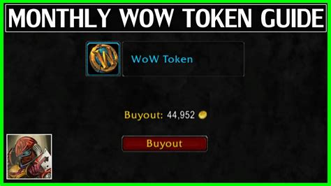 guaranteed monthly wow token guide wow legion gold guide