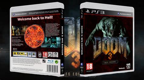 Bd Ps3 Doom 3 doom 3 bfg edition playstation 3 box cover by