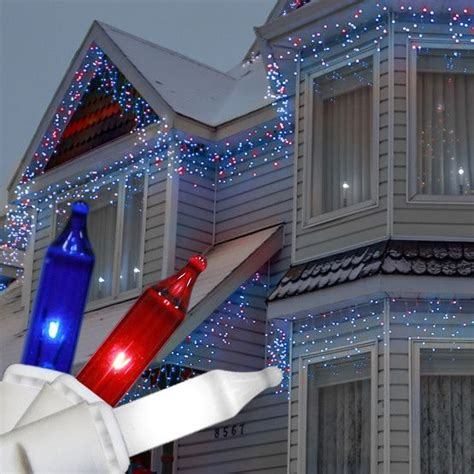 red and white icicle lights 104 best patriotic lights and decor images on pinterest
