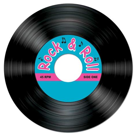 Roll Records Rock And Roll Record Coasters 8 Pkg Partycheap