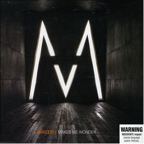 maroon v album makes me wonder by maroon 5 album cover