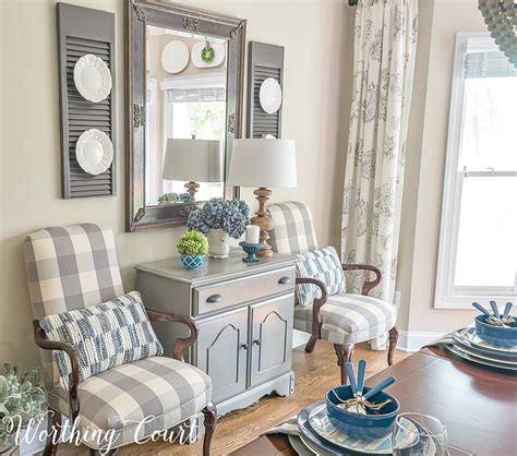 Summer Room Decor Join Me For A Tour Of My Summer Suburban Farmhouse Worthing Court