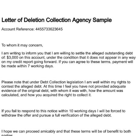 Pay For Deletion Credit Letter pay for delete letter how to format cover letter