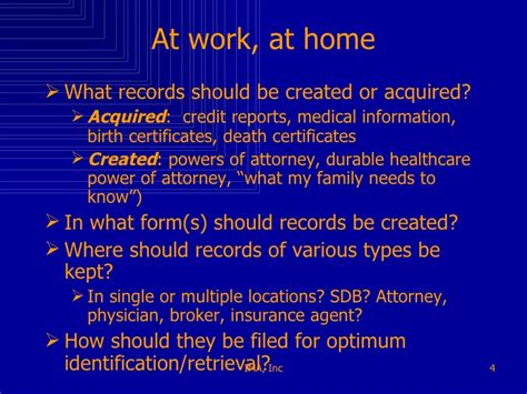 Housing Records Family And Home Records Management