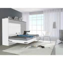 armoire lit escamotable horizontale transversale au