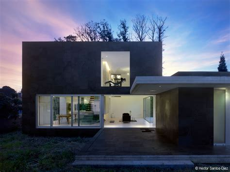 black and white house with modern glass building blackwhite residence home building modern residence eins house architected by 195 scar pedr 195 179 s