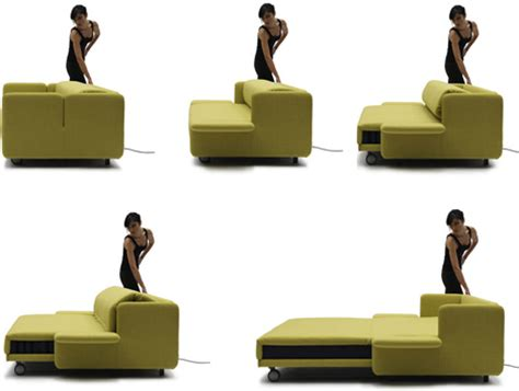 couch to bed lazy luxury sleeper convertible push button couch bed