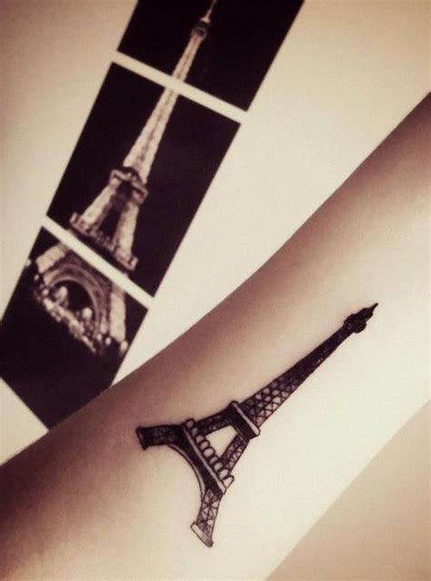 eiffel tower tattoos tattoos and piercings