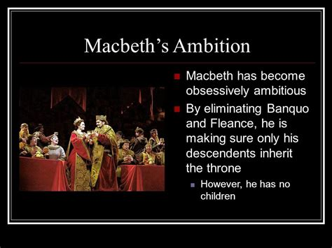 themes in macbeth ambition macbeth act iii ppt video online download