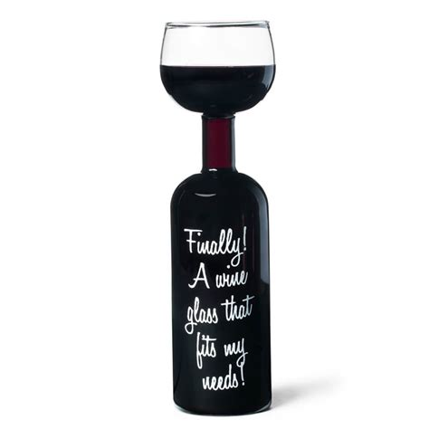 wine bottle glass buy from prezzybox com