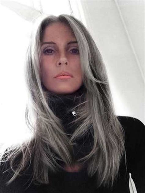 22 gray hair dye photos silver hairstyles 25 new gray hair color