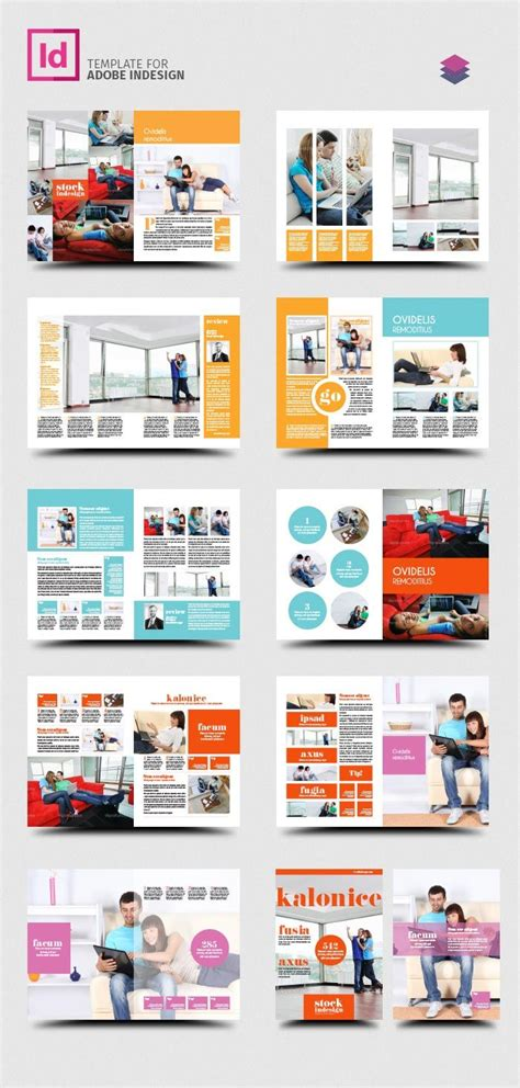 free indesign pro magazine template kalonice graphic