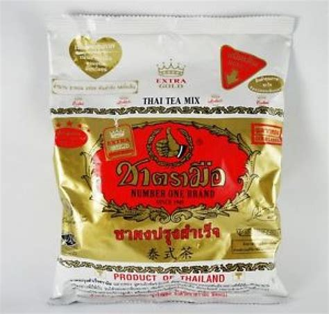Thai Tea Number One Cha Tramue купить number one brand gold thai iced tea mix 400г недорого