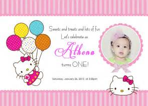hello birthday invitations template best template collection