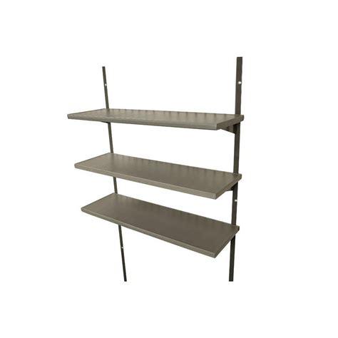 8 Foot Shelves Lifetime 30 Inch Shelving Kit 3 Pack For 8 Foot Wide
